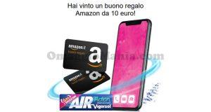 buoni Amazon 10€ Chew Cool fase 2