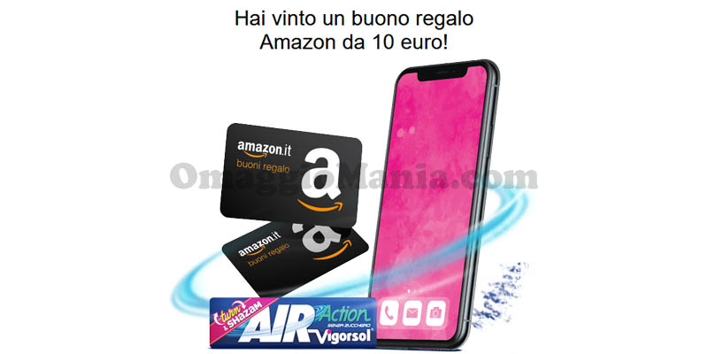 buoni Amazon 10€ Chew Cool fase 2