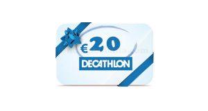 buono Decathlon da 20 euro
