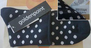calzini omaggio Goldenpoint di Valentina