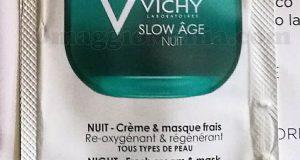 campione omaggio Vichy Slow Âge Nuit di Sole