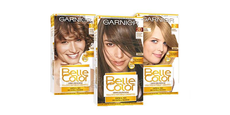 colorazione Garnier Belle Color