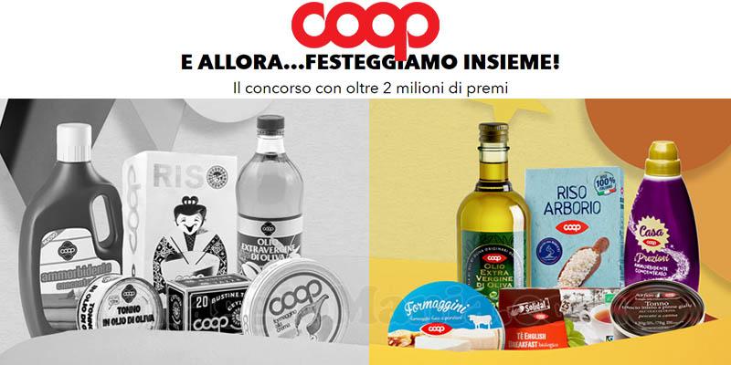 concorso 70 anni del prodotto Coop