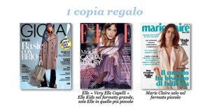 coupon omaggio Gioia 13 Elle e Marie Claire 4