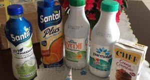 fornitura Parmalat Santal e Chef di Maria Teresa con Club Buon Per Me