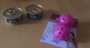 omaggio con cibo per animali Zoa