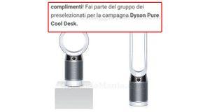 preselezionati campagna The Insiders Dyson Pure Cool Desk