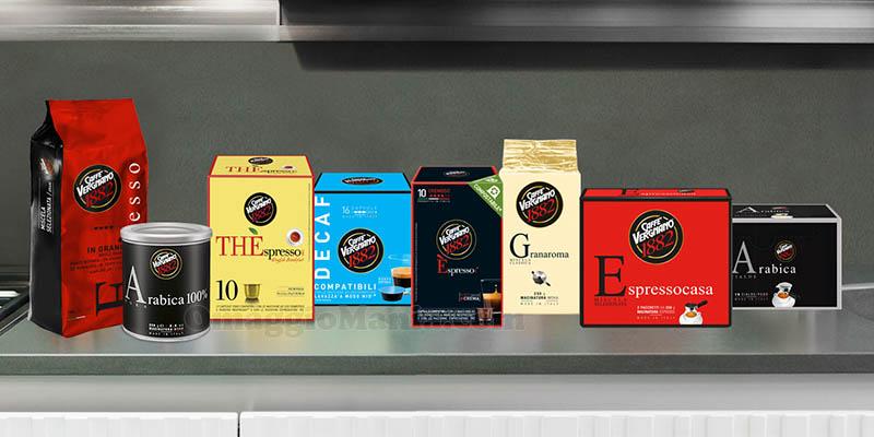 prodotti Caffè Vergnano