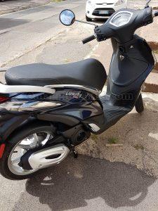scooter Scarabeo 2T Aprilia di Monica con Golia 1