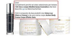 selezione tester Mediterranea Cosmetics