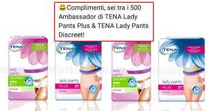selezione tester Testamus TENA Lady