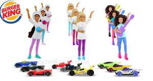 sorprese Barbie Hot Wheels Burger King