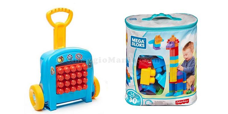 trolley e sacca Mega Bloks