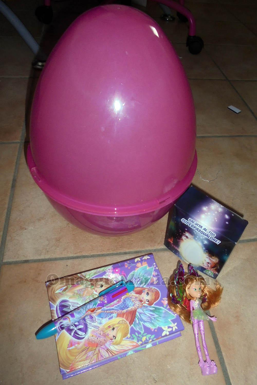 uovo Super Pasqualone Winx di Giochi Preziosi vinto da Vincenzo