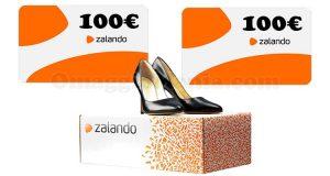 vinci carte regalo Zalando da 100 euro