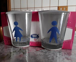 bicchieri Acqua Vera di Daniela