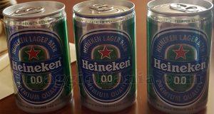 birre Heineken 0.0 omaggio di Valentina