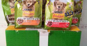 box cane Purina Friskies Pappa per tutti di Arya