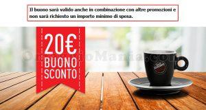 buono sconto Caffè Vergnano da 20€