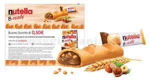 buono sconto Nutella B-ready