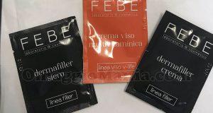 campioni omaggio cosmetici FEBE di Irene