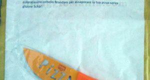 coltello Brandani omaggio da Schär di Fede