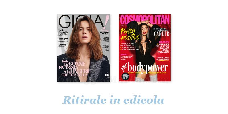 coupon omaggio Gioia 18 Cosmopolitan 5 2018