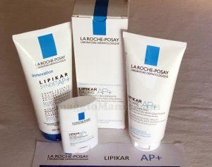 kit Lipikar AP+ La Roche-Posay di Federica