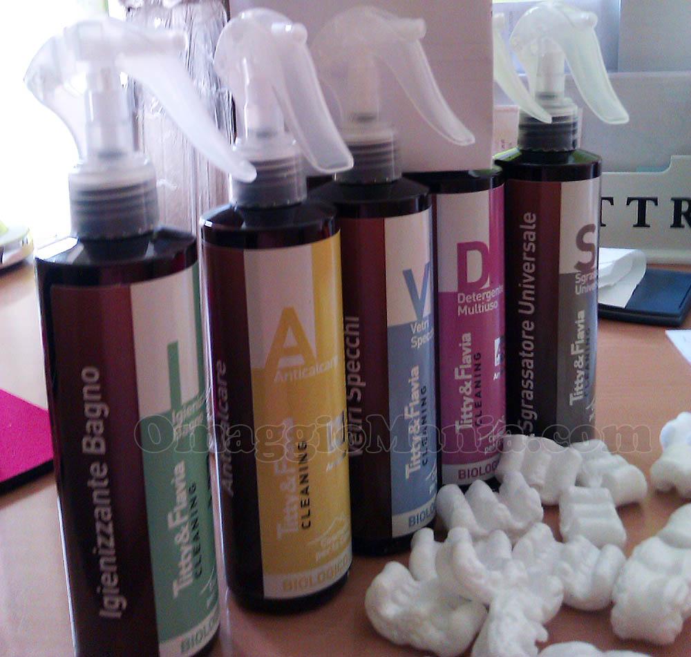 kit prodotti Titty & Flavia di Valeria