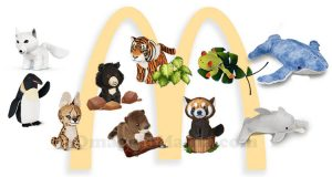 peluche National Geographic Kids Happy Meal McDonald's