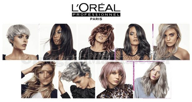 servizio colorazione L'Oréal Professionnel