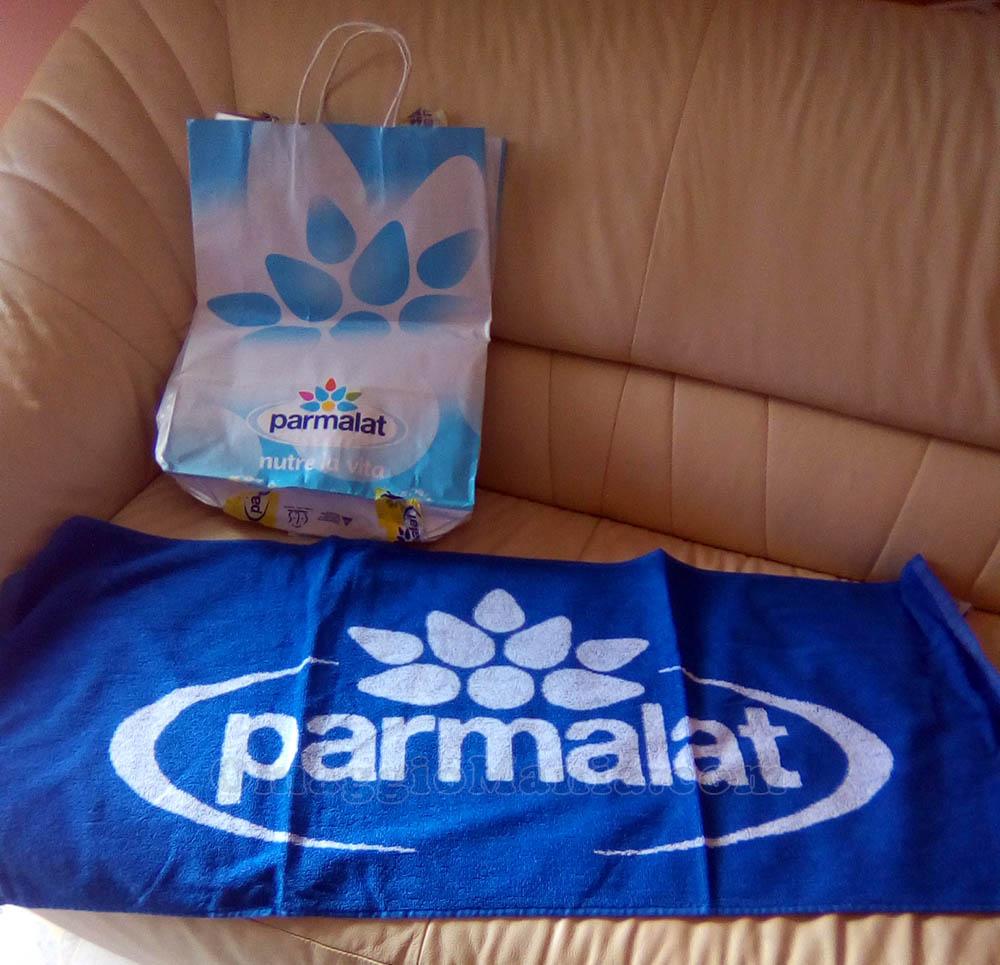 telo palestra Parmalat di Mery