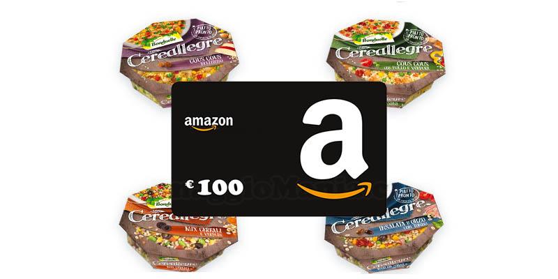vinci buoni Amazon con Cereallegre Bonduelle
