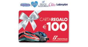 vinci carta regalo Trenitalia con Felce Azzurra