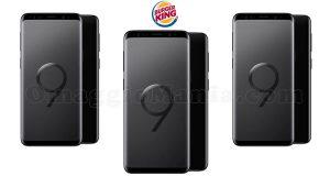Burger King vinci un Samsung Galaxy S9 al giorno