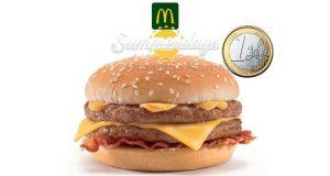 Crispy McBacon 1 euro McDonald's Summerdays 2018