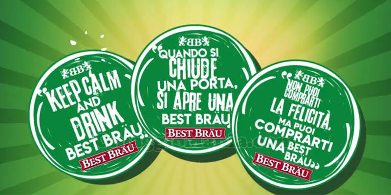 Sottobicchieri Best Bräu omaggio