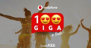 Vodafone 100 Giga e Lode