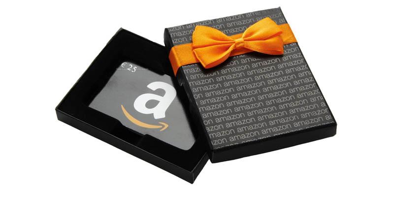 buono regalo Amazon 25 euro