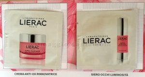 campioni omaggio crema e siero Lierac Supra Radiance di Sole