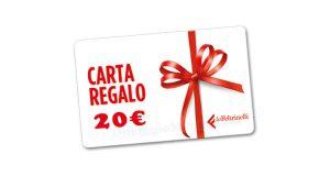 carta regalo La Feltrinelli 20 euro