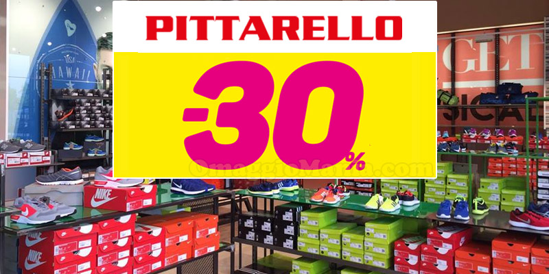 coupon Pittarello 30%