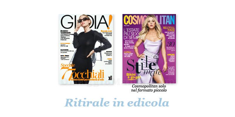 coupon omaggio Gioia 23 Cosmpolitan 6 2018
