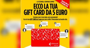 gift card La Feltrinelli 5 euro di Federica