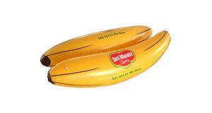 materassino gonfiabile banana Del Monte