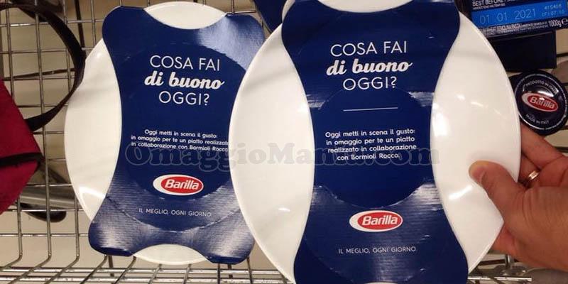 piatti Barilla omaggio