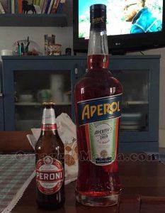 bottiglia magnum di Aperol di Pamela