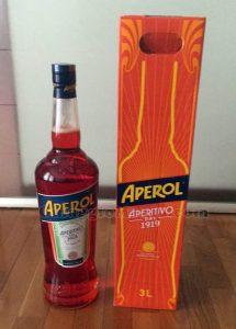 bottiglia magnum di Aperol di Silvia