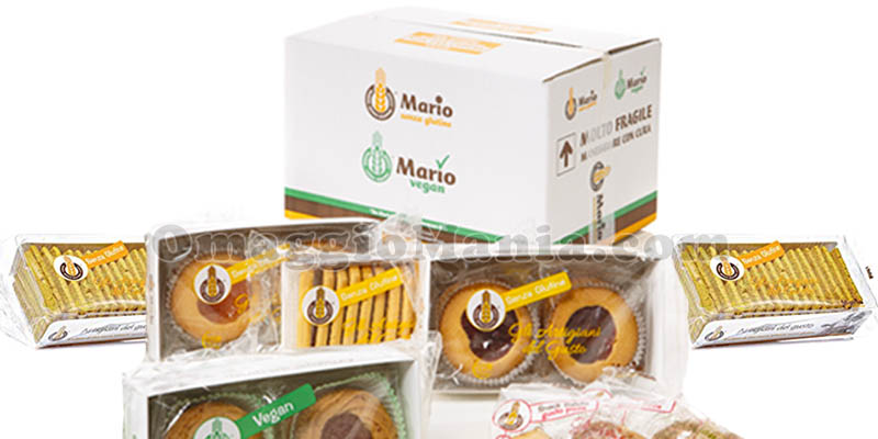 box regalo Dolce & Salato Mario senza glutine