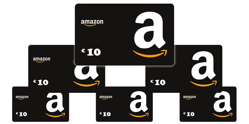 buoni Amazon da 10 euro